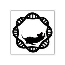 """Mr. DNA T Square Sticker 3"""" x 3"""""""