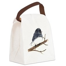 dark eyed junco Canvas Lunch Bag