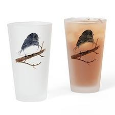 dark eyed junco Drinking Glass