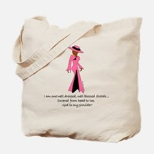BC well dressed Tote Bag