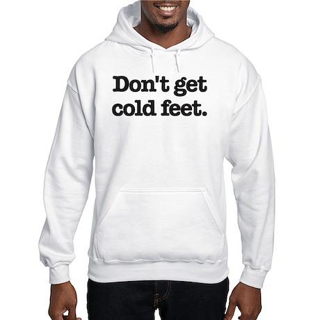 Knitting Mafia's Cold Feet Hooded Sweatshirt