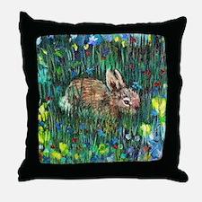 Baby Bunny2 Throw Pillow