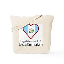 Happily Married Guatemalan Tote Bag