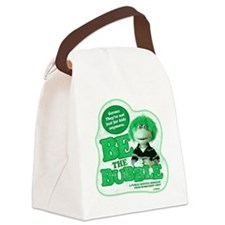 germs-not just for kids-on dark Canvas Lunch Bag