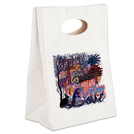 of mice and ben good copy copy Canvas Lunch Tote