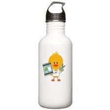 ScrapbookChickDkT Water Bottle