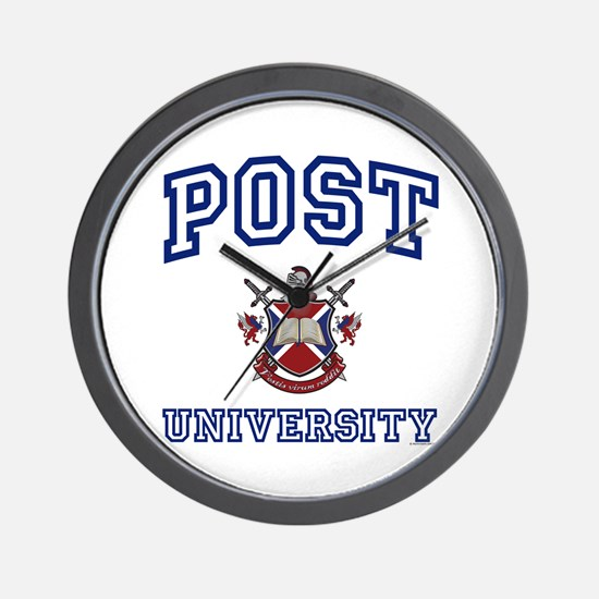 POST University Wall Clock