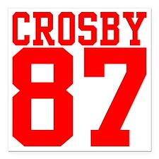 "crosby2.gif Square Car Magnet 3"" x 3"""