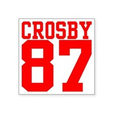 "crosby2.gif Square Sticker 3"" x 3"""