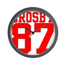 crosby2.gif Wall Clock