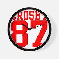crosby2.gif Wall Clock