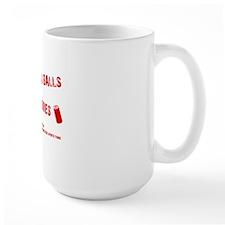 ballsNotBatteries_tshirt_light Mug