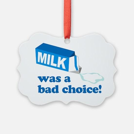 MilkChoice Ornament