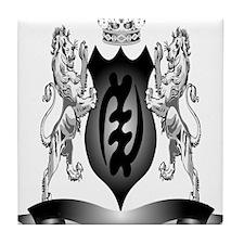 2-Afro-Crest Tile Coaster