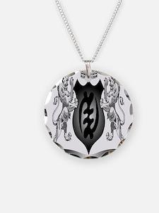 2-Afro-Crest Necklace