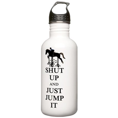 Shut Up and Just Jump Stainless Water Bottle 1.0L