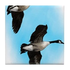 Canadian Geese Tile Coaster