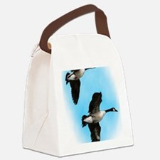 Canadian Geese Canvas Lunch Bag