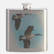 Canadian Geese Flask