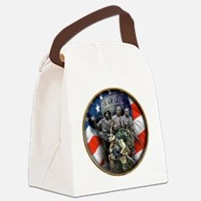 vets 2 Canvas Lunch Bag