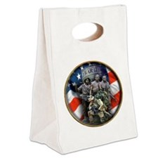 vets 2 Canvas Lunch Tote