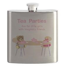 tea parties Flask