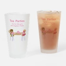 tea parties Drinking Glass