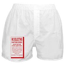 NoSolRecSticker3.5x5.5-B Boxer Shorts