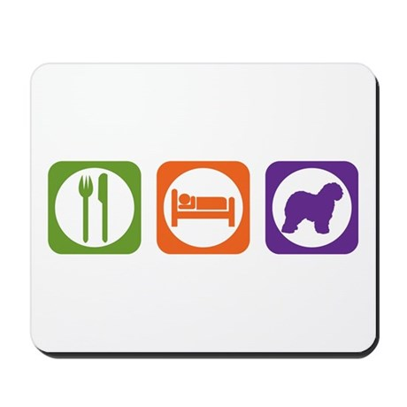 Eat Sleep Sheepdog Mousepad