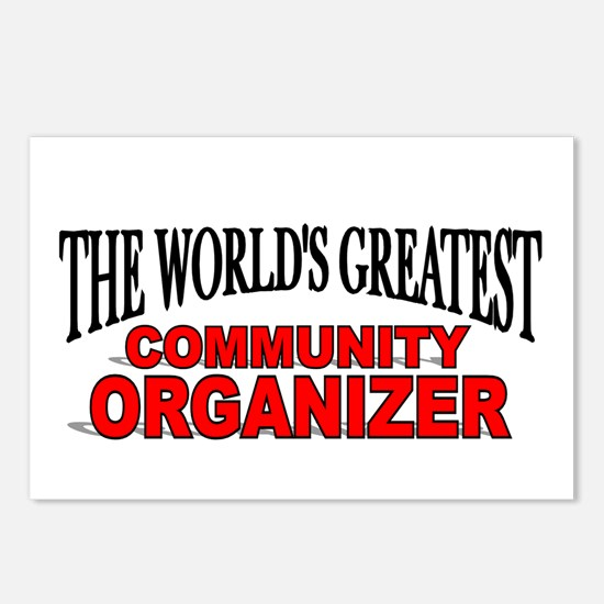 """The World's Greatest Community Organizer"" Postcar"