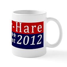 Mad Hatter for President Bumper Sticker Mug