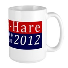 Mad Hatter for President Bumper Sticker Mug