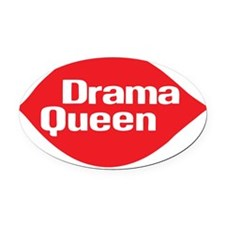 drama_queen_t_shirt Oval Car Magnet