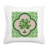 St patrick\'s day pillow Square Canvas Pillows