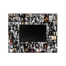 Dead Writer Collage Picture Frame