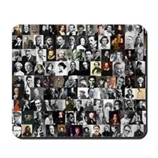 Dead Writer Collage Mousepad