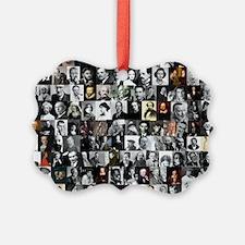 Dead Writer Collage Ornament