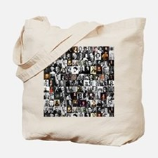 Dead Writers Collage Tote Bag