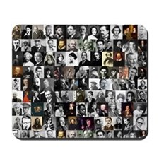 Dead Writers Collage Mousepad
