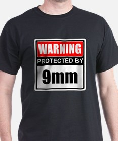 Warning 9mm T-Shirt