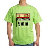 9mm Green T-Shirt