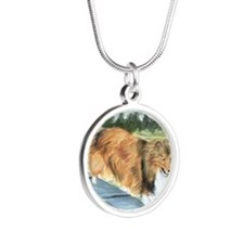 Agility Shetlie Silver Round Necklace