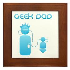 geek-dad Framed Tile