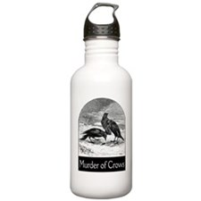 FIN-murder-of-crows Water Bottle