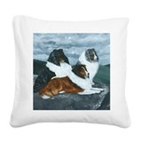 Sheltie Square Canvas Pillows
