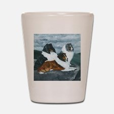 Mountain Mist Sheltie Shot Glass