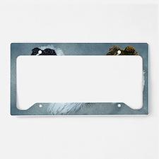 Sheltie Headstudies License Plate Holder