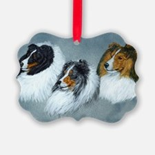 Sheltie Headstudies Ornament