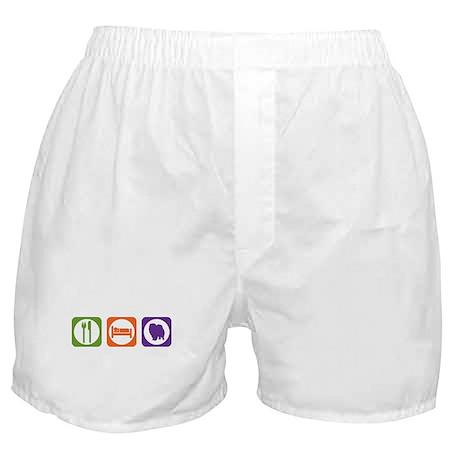 Eat Sleep Pomeranian Boxer Shorts