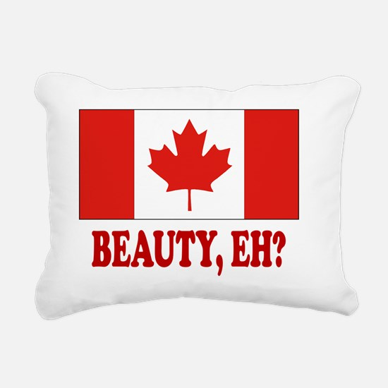 CANADA,BEAUTY EH? Rectangular Canvas Pillow